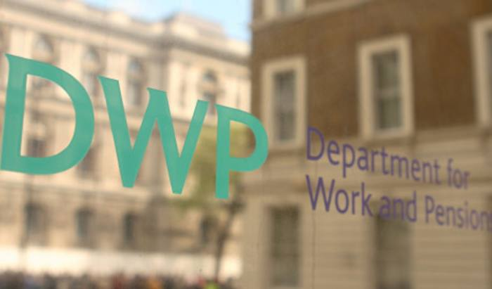 Department for work and pensions wall-late